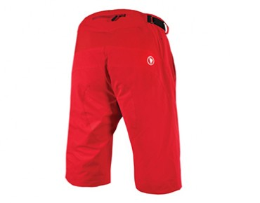 ENDURA SINGLETRACK LITE cycling shorts red