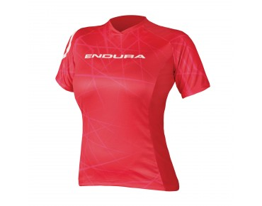ENDURA SINGLETRACK Damen Funktions T-Shirt red