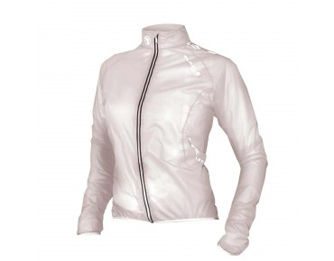 ENDURA ADRENALIN RACE CAPE waterproof women's jacket white