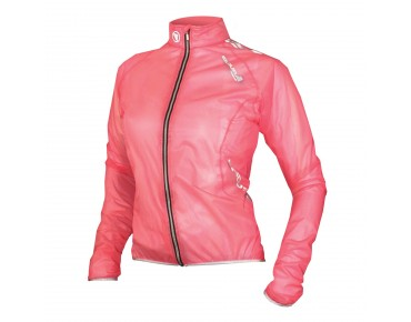 ENDURA ADRENALIN RACE CAPE damesregenjack roze
