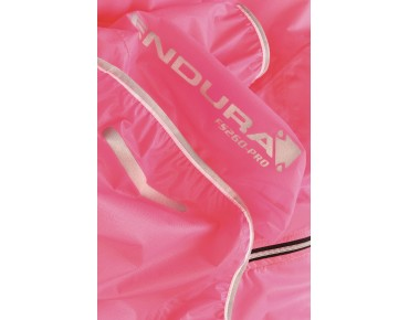ENDURA ADRENALIN RACE CAPE waterproof women's jacket pink