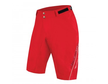 ENDURA SINGLETRACK LITE women's shorts red