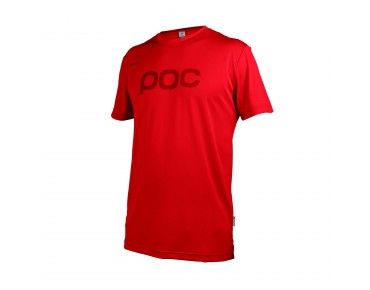 POC TRAIL LIGHT Funktionsshirt pewter red