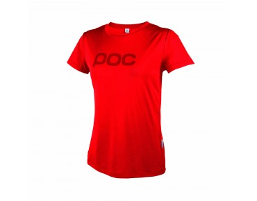 POC TRAIL LIGHT Damen Funktionsshirt pewter red