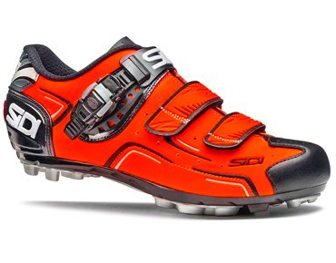 SIDI BUVEL MTB-schoenen orange fluo/black