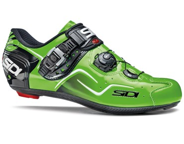 SIDI KAOS road shoes green fluo