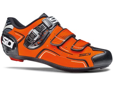 SIDI LEVEL road shoes orange fluo/black