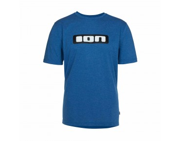 ION LOGO DR Funktionsshirt turkish blue melange