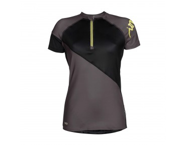 ION VENTA women's bike shirt dark shadow