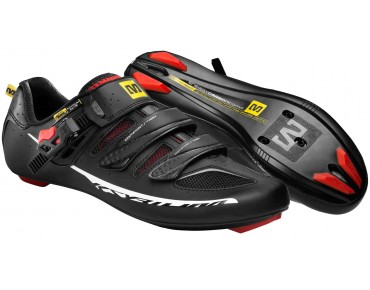 MAVIC KSYRIUM ELITE Rennradschuhe black/red