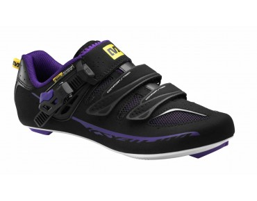 MAVIC KSYRIUM ELITE W women's road shoes black/elegant plum-x