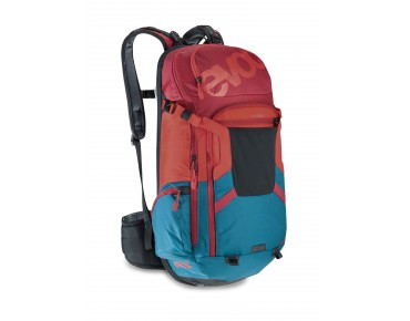 evoc FREERIDE TRAIL 20L Rucksack TEAM petrol/red/ruby