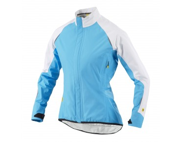 MAVIC ATHENA H2O women's waterproof jacket blue line/white