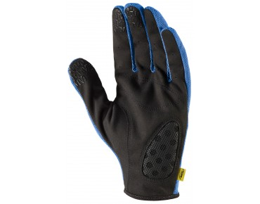 MAVIC CROSSMAX MTB full-finger gloves screen blue