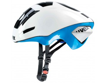 uvex EDAero Helm white/blue