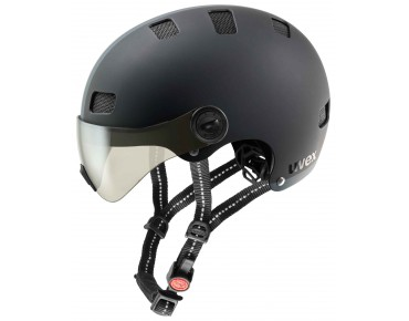 uvex CITY V helmet black mat