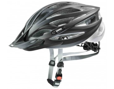 uvex oversize cycle helmet black/matt silver