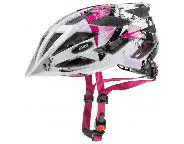 uvex air wing kids' helmet white/pink