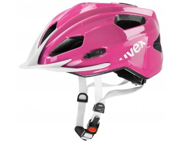 uvex quatro junior Kinderhelm pink/white