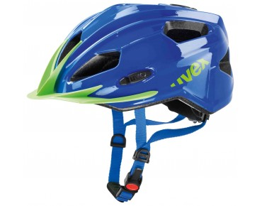 uvex quatro junior kids' helmet blue/green