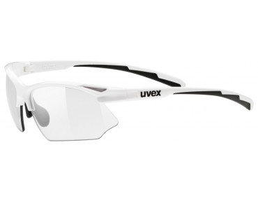uvex SPORTSTYLE 802 VARIO glasses white/variomatic smoke