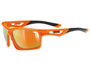 uvex SPORTSTYLE 700 glasses orange/mirror orange