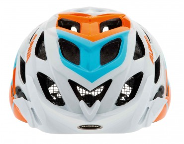 ALPINA D-ALTO MTB-helm white/blue/orange