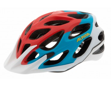 ALPINA MYTHOS L.E. MTB helmet red/blue/white