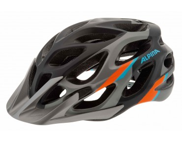 ALPINA MYTHOS L.E. MTB helmet darksilver/blue/orange