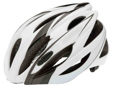 ALPINA CYBRIC Rennradhelm white/black