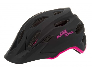 ALPINA CARAPAX JR. kids' helmet black/pink