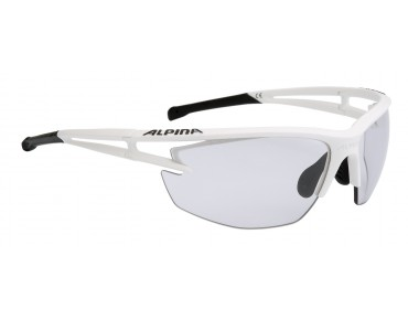 ALPINA EYE 5 HR VL+ sports glasses white mat-black/varioflex+black