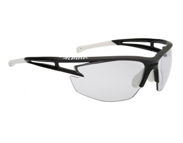 ALPINA EYE 5 HR VL+ - occhiali black matt-white/varioflex+black