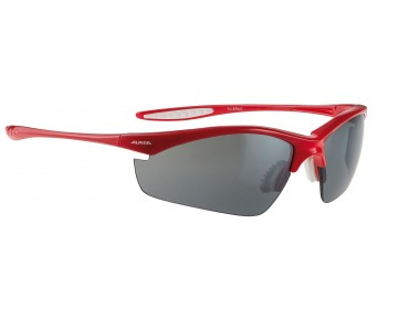ALPINA TRI EFFECT sports glasses red/black mirror