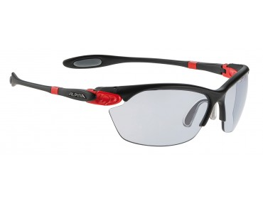 ALPINA TWIST THREE 2.0 VL Brille black matt-red/varioflex black