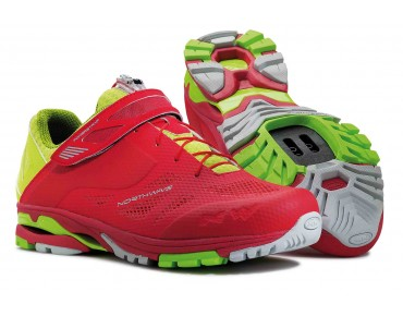 NORTHWAVE SPIDER 2 MTB/trekking shoes red/green