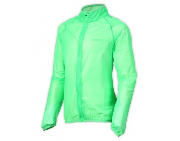 ziener CIRIN kids' waterproof jacket signal green