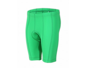 ziener CHOTO kids' cycling shorts signal green