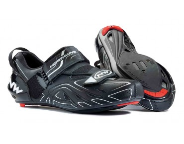 NORTHWAVE TRI-SONIC Triathlonschuhe black