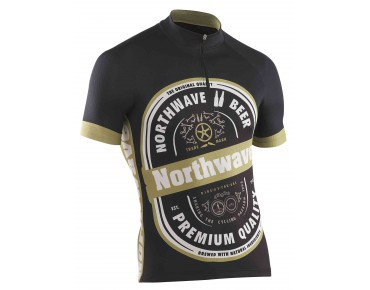 NORTHWAVE BEER Trikot black/white