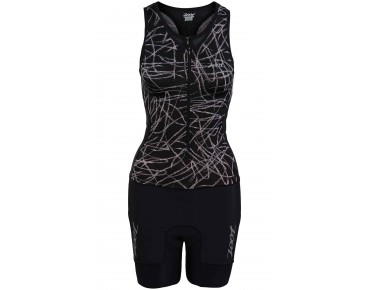 ZOOT PERORMANCE women's trisuit black static