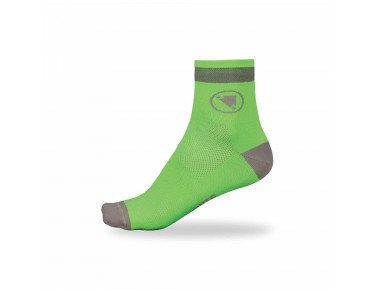 ENDURA LUMINITE socks twin pack hi-viz green