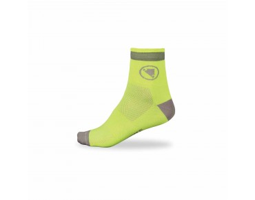 ENDURA LUMINITE socks twin pack hi-viz yellow