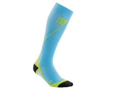 cep RUN 2.0 compression socks hawai blue/green