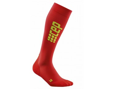 cep RUN ULTRALIGHT compression socks red/green