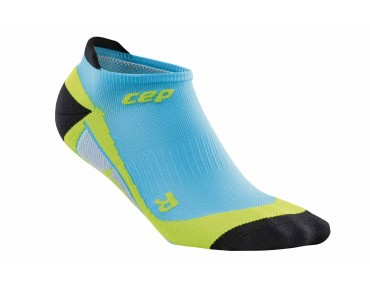 cep NO SHOW socks hawai blue/green