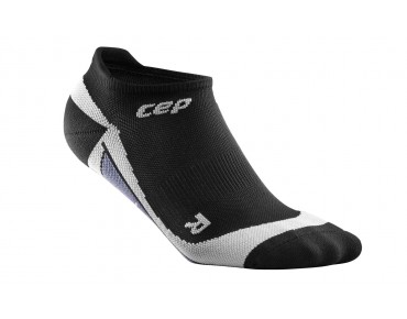 cep NO SHOW socks black/grey