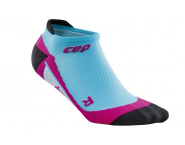 cep NO SHOW women's socks hawai blue/pink