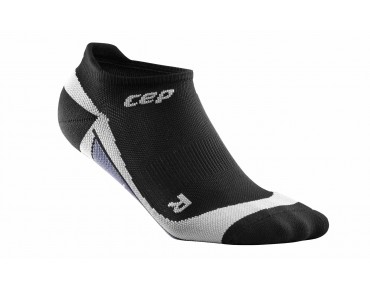 cep NO SHOW women's socks black/grey