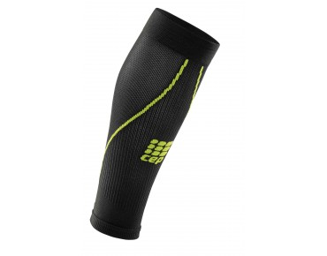 cep CALF SLEEVES 2.0 Kompressionsstutzen black/green